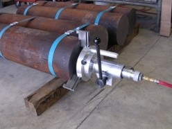 Center Drilling Bar Stock